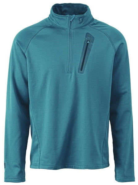 SCOTT Four4 1/2 Zip Pullover Maui Blue 236697