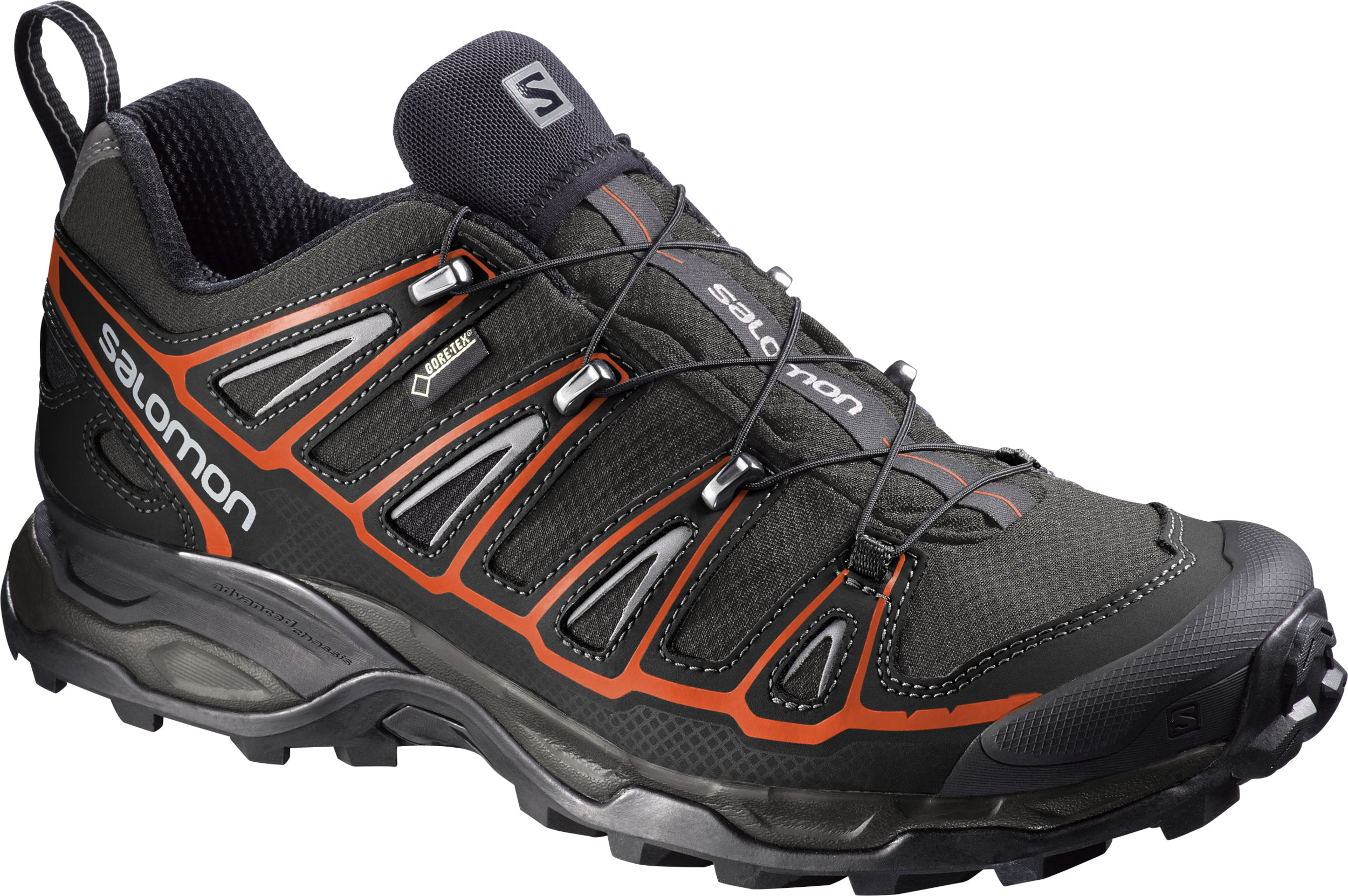 Salomon X Ultra 2 GTX M Autobahn Black Tomato Red 381637 b29af72b2d