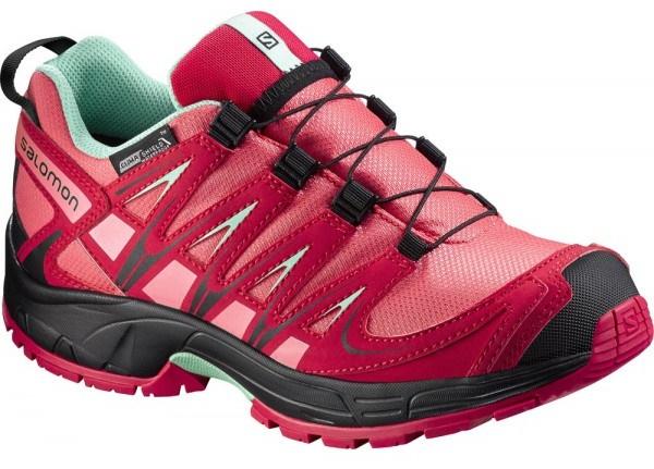 Salomon XA Pro 3D CSWP J madder pink lucite green 379111 f5f07a8e0f