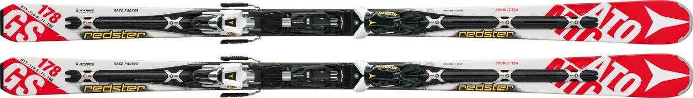 ATOMIC   Atomic Redster Doubledeck 3.0 GS + X12 TEST185 (testovací lyže)   178