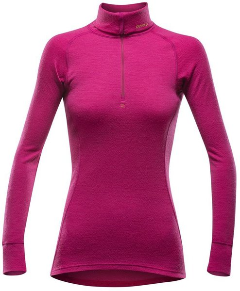 Devold Duo Active Woman Zip Neck Cerise 237 244 181a