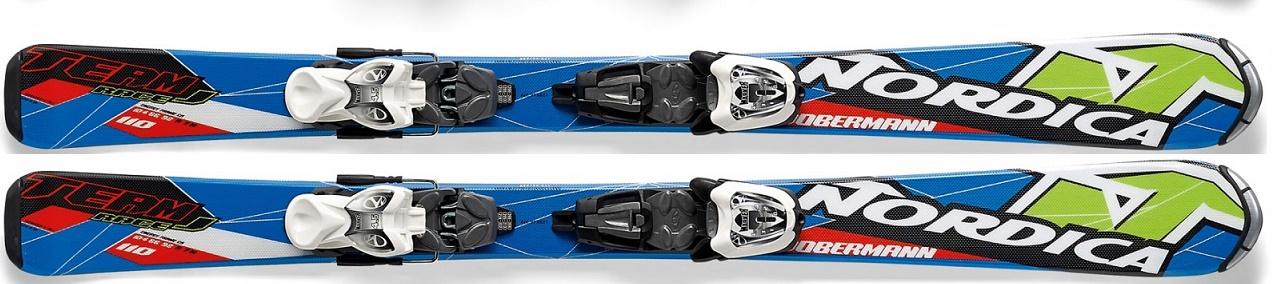 NORDICA | Nordica Team J Race + M 4.5 Fastrak ( Testovací lyže ) | 100