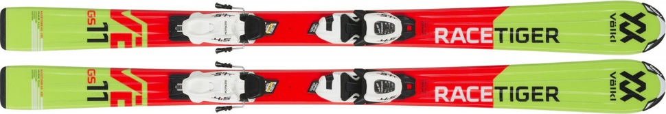 Volkl Racetiger Jr. vMotion Red + vMotion 7 Jr. R 18/19