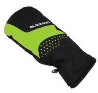 Blizzard Mitten junior ski gloves black green 180030 7d7c34ed8d