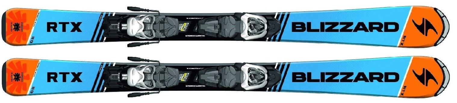 BLIZZARD | Blizzard RTX Racing JR + FT 4.5 (Testovací lyže 1227) | 110